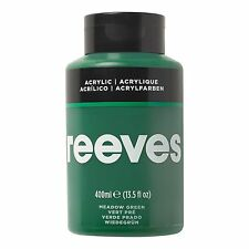 Reeves Acrylic Paint 400 Ml Grass Green
