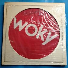 """Various-WOKY Radio 92-12"""" PIC DISC-1978 Columbia PROMO ONLY- M-./M- UNPLAYED"""