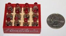 Coca-Cola Miniature Case with 12 Miniature Bottles