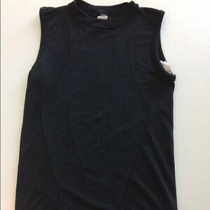 Nike Fit Dry Black Sleeveless Top Size L/XL. B