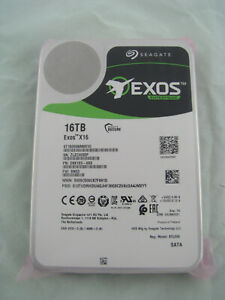 ST16000NM001G SEAGATE EXOS X16 16TB 7.2K SATA-6GBPS 256MB 3.5IN HDD