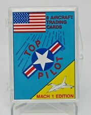 Top Pilot Mach 1 Edition Aircraft Trading Cards 1-15 NM/M