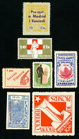 Russia Stamps Lot of 7x Interesting Russian Stamps