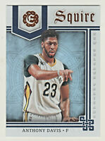 2016-17 Panini Excalibur SQUIRE 2 ANTHONY DAVIS Los Angeles Lakers QTY AVAILABLE