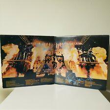 Kiss signed lp **Alive 2 Gatefold**4 original members ***