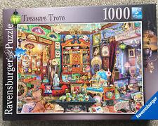 Ravensburger - The Treasure Trove 1000pc Jigsaw Puzzle Vgc