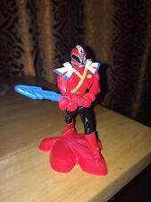 """2012 Red Ranger 4.25"""" McDonalds Super Samurai #1 Power Rangers Buy 3 Get 4th Fr!"""