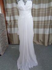 (30)Edles Damen Braut Standesamt Abend Kleid GR: GR: 38
