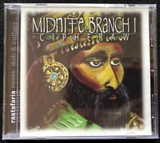 Midnite Cipheraw CD Rastafaria (2003) Roots Reggae Brand New Sealed Rare!