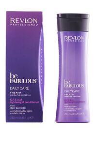 Revlon Professional Be Fabulous CREAM Lighweight Conditioner 250ml