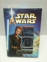 Star Wars Attack of the Clones 10 diff designs Valentine Fold Seal Cards X30 New