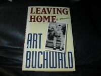 Leaving Home A Memoir Book Autographed by Art Buchwald JSA Auc Certified