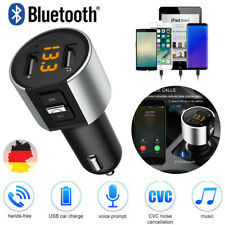 KFZ Freisprechanlage Auto Bluetooth FM Transmitter MP3 Musik Player USB SD AUX