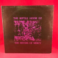 SISTERS OF MERCY The Reptile House 1983 UK 12'' vinyl single EXCELLENT CONDITION