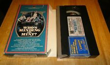 Who's Minding The Mint? (VHS, 1967) Milton Berle Comedy Vintage RCA Side-Loader
