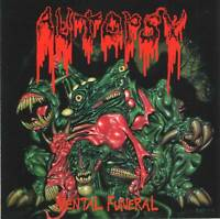 AUTOPSY - MENTAL FUNERAL (1991) Death Metal CD Jewel Case+FREE GIFT