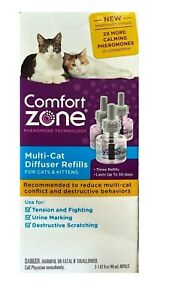 Comfort Zone Multicat Control Refill, Pack of 3 - RETAIL PACKAGING
