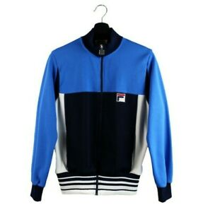 70s 80s FILA Snow Time vintage track jacket Bjorn Borg OG zip made Italy OG S M