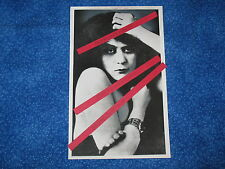 Original Press Photo Copy 1920s Silent Screen 1st Movie Vamp Theda Bara