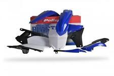 Polisport New Plastic Kit Set Blue Complete Original Yamaha YZ250F 2010-2013