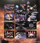 STAR TREK DEEP SPACE NINE IMPERF STAMPS 2001 NEXT GENERATION FAUX ISSUE SCI-FI 2