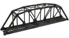 Code 55 Black Through Truss Bridge N Kit - Atlas #2070