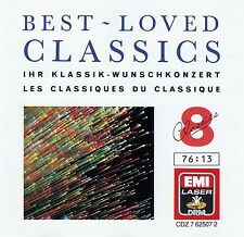 BEST-LOVED CLASSICS 8 / CD (EMI RECORDS LTD. CDZ 7 62507 2) - TOP-ZUSTAND