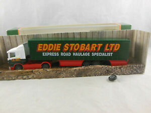 Corgi Superhaulers 59503 Scania Curtainside Trailer Eddie Stobart Ltd 1:64 Scale