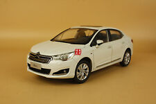 1:18 2012 China Citroen C4L WHITE COLOR