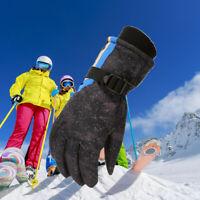 Kids Children Winter Gloves Thermal Wind Waterproof Ski Warm Snow Sports Mittens