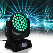 360W LED Zoom Moving Head  Wash Stage Light DMX 16CH 36 x 10W Samger New