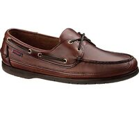 Sebago Schooner Men's Deck Boat Shoe B75943 Brown Oiled Waxy NEW