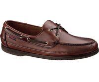 Sebago Schooner Men's Deck Boat Shoe B75943 Brown Oiled Waxy NEW
