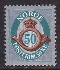 NORWAY - 2011 - Posthorn. 50 Kr. Individual stamp, 1v. Mint NH