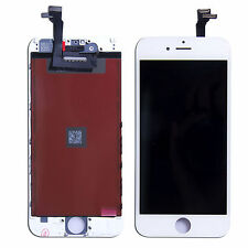 "Per iPhone 6 4,7"" LCD Display Retina Touch Screen Vetro Assemblato frame Bianco"