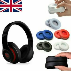 Replacement Ear Pads Soft Cushion Cover for Dr. Dre Beats Solo 2.0 3.0 Headset
