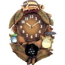 New My Neighbor Totoro WALL CLOCK Citizen with Theme song Studio Ghibli Japan