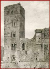 Tour du Pape Jean 22 à Cahors GRAVURE ORIGINALE 1845