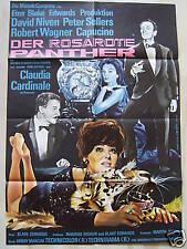 DER ROSAROTE PANTHER - Claudia Cardinale, David Niven, P. Sellers Filmplakat A1