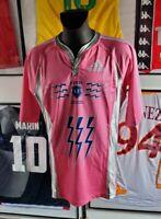 Maillot shirt jersey rubgy stade francais 2007 2008 rose vintage 07/08 XL retro