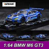 Tarmac Works TW 1:64 Scale BMW M6 GT3 Nurburgring 24H 2016 Diecast Car Model NEW