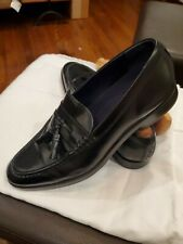 Cole Haan Black Tasseled Loafer Grand 0S 10 M modern style