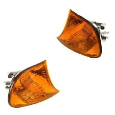 BMW 323Ci Left & Right Turn Signals 2 Blinker Corner Light Lamp Yellow Lens Kit