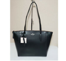 ❤️NWT KATE SPADE KALI TOTE  LEATHER satchel SHOULDER BAG PURSE laptop black