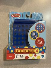 Connect 4 Fun On The Run Travel Game *New & Complete* Open Box