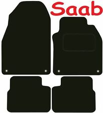 Tailored Deluxe Quality Car Mats Saab 9-3 2002-2011 ** Black ** Saloon