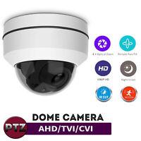 PTZ Dome CCTV 4x zoom 4in1 HD 1080P Camera AHD TVI CVI CVBS 2.0MP IR 30M