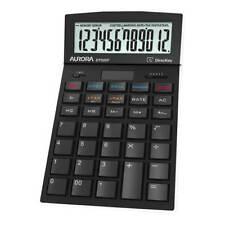 Aurora Calculator Desktop Multifunction 12 Digit 4 Key Memory 174x104x35mm
