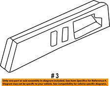 GM OEM Front Door-Bezel Right 22071940