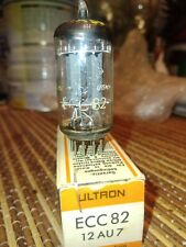 Telefunken Ultron NOS ECC82 12AU7 Tube box new NIB Made in west Germany